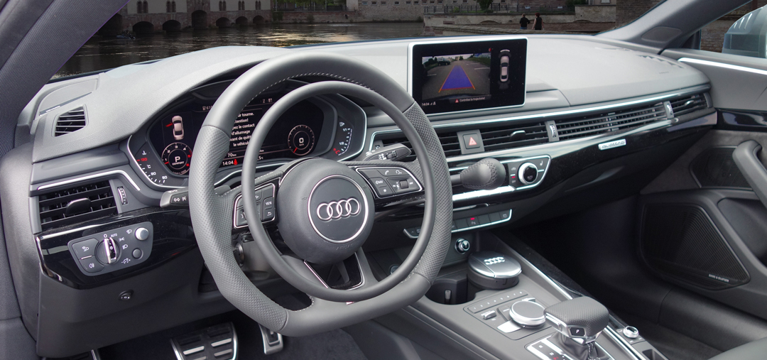 Audi A5 with hand accelerator and hand brake by Kempf