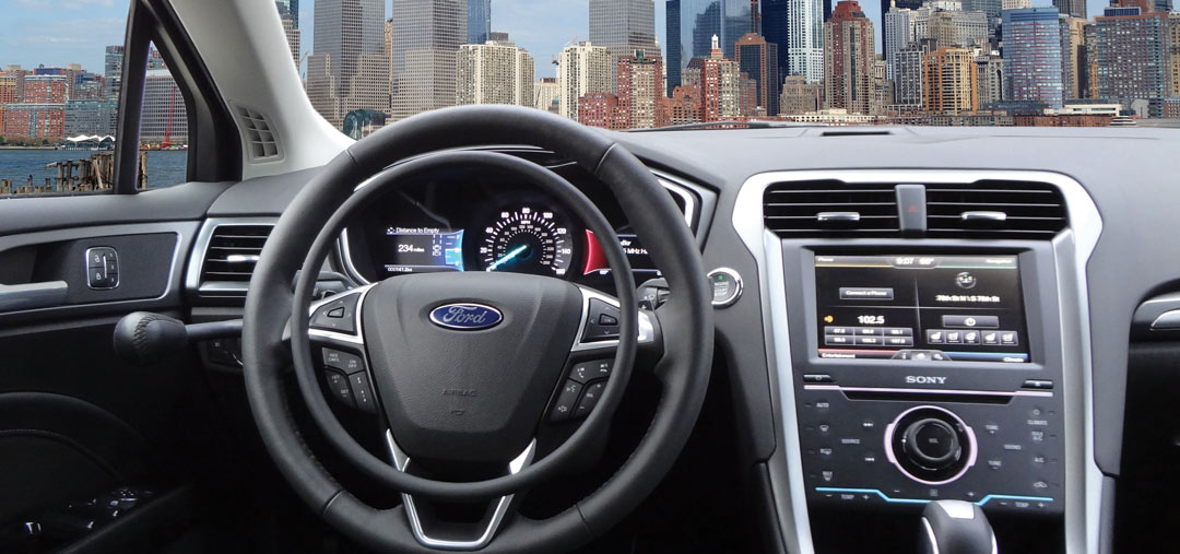 Ford Fusion with car hand controls by Kempf