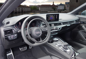 Audi A5 hand controls for disabled drivers