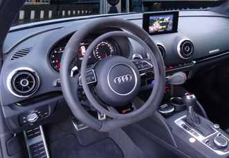 Audi RS3 with car hand controls by Kempf