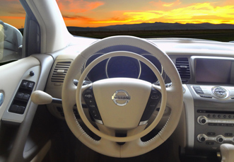 Nissan Murano with hand controls Darios