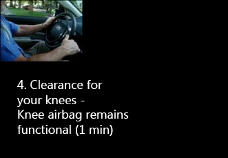 knee safety with kempf hand controls