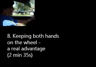 both hands on the wheel with kempf hand controls